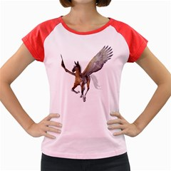 Flying Pony 2 Women s Cap Sleeve T-Shirt (Colored)