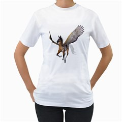 Flying Pony 2 Womens  T Shirt (white)