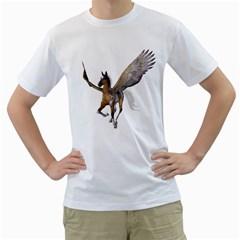 Flying Pony 2 Mens  T Shirt (white)