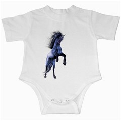 Blue Unicorn 3 Infant Creeper