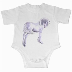 Silver Unicorn Infant Creeper