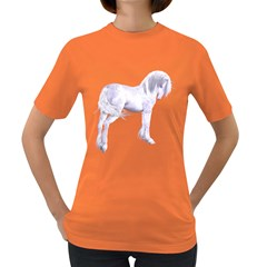 Silver Unicorn Womens' T Shirt (colored)