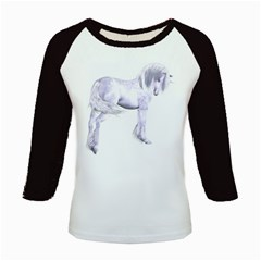 Silver Unicorn Women s Long Cap Sleeve T-Shirt