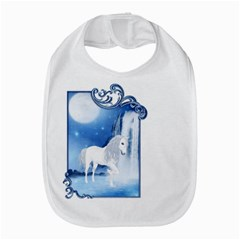 White Unicorn 2 Bib