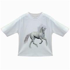 White Unicorn 3 Baby T-shirt