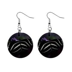 Butterfly 059 001 Mini Button Earrings