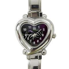 Butterfly 059 001 Heart Italian Charm Watch