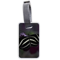 Butterfly 059 001 Luggage Tag (one Side)