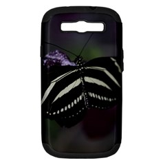 Butterfly 059 001 Samsung Galaxy S III Hardshell Case (PC+Silicone)