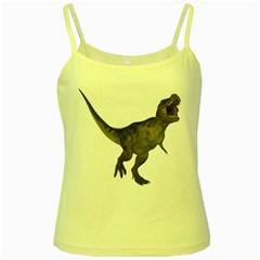Tyrannosaurus Rex 2 Yellow Spaghetti Tank