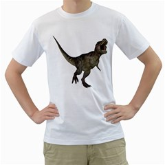 Tyrannosaurus Rex 2 Mens  T-shirt (White)