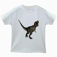 Tyrannosaurus Rex 2 Kids' T-shirt (White)