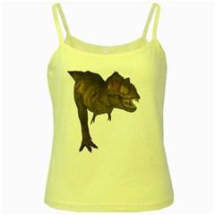 Tyrannosaurus Rex 4 Yellow Spaghetti Tank