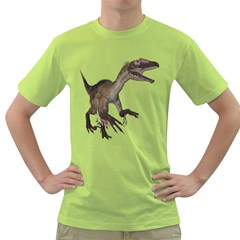 Utahraptor 1 Mens  T-shirt (Green)