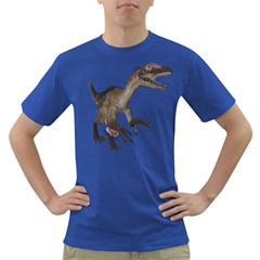 Utahraptor 1 Mens' T-shirt (Colored)
