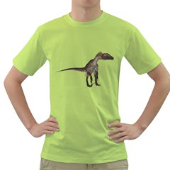 Utahraptor 2 Mens  T Shirt (green)