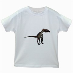 Utahraptor 2 Kids' T Shirt (white)