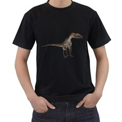 Utahraptor 2 Mens' T-shirt (Black)