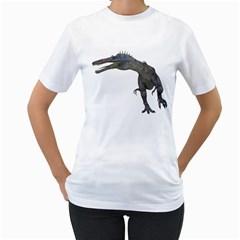 Suchomimus 1 Womens  T-shirt (White)