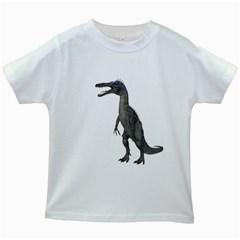 Suchomimus 2 Kids' T-shirt (White)