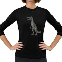 Suchomimus 2 Womens' Long Sleeve T-shirt (Dark Colored)
