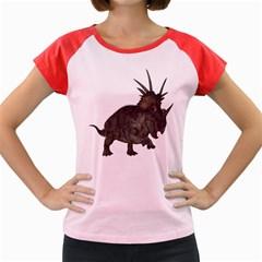 Styracosaurus 1 Women s Cap Sleeve T-Shirt (Colored)