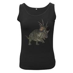 Styracosaurus 1 Womens  Tank Top (Black)