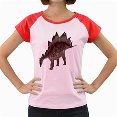 Stegosaurus 1 Women s Cap Sleeve T-Shirt (Colored)