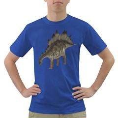 Stegosaurus 1 Mens' T-shirt (Colored)