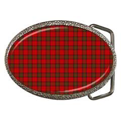 The Clan Steward Tartan Belt Buckle (oval)