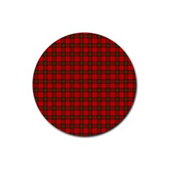 The Clan Steward Tartan Drink Coaster (Round)