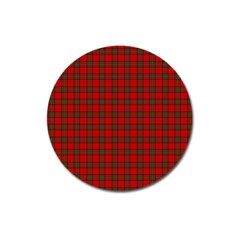 The Clan Steward Tartan Magnet 3  (Round)