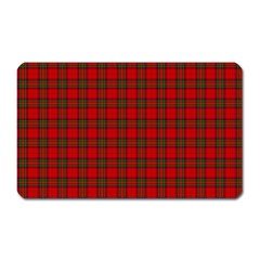 The Clan Steward Tartan Magnet (Rectangular)