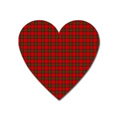 The Clan Steward Tartan Magnet (Heart)