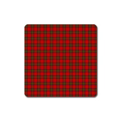 The Clan Steward Tartan Magnet (square)