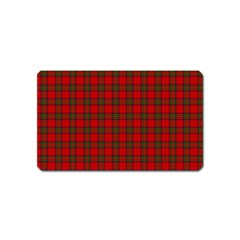The Clan Steward Tartan Magnet (name Card)