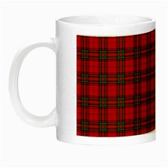 The Clan Steward Tartan Glow In The Dark Mug