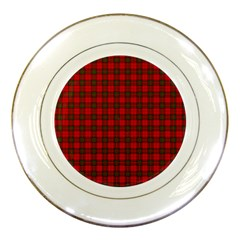 The Clan Steward Tartan Porcelain Display Plate
