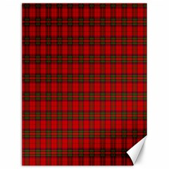 The Clan Steward Tartan Canvas 12  X 16  (unframed)