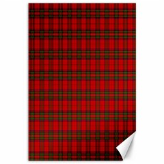 The Clan Steward Tartan Canvas 12  x 18  (Unframed)