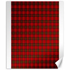 The Clan Steward Tartan Canvas 20  x 24  (Unframed)