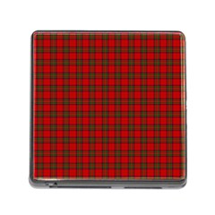 The Clan Steward Tartan Memory Card Reader with Storage (Square)