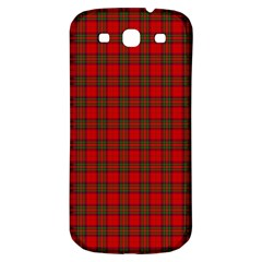 The Clan Steward Tartan Samsung Galaxy S3 S III Classic Hardshell Back Case