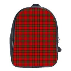 The Clan Steward Tartan School Bag (xl)