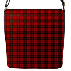 The Clan Steward Tartan Flap Closure Messenger Bag (small)