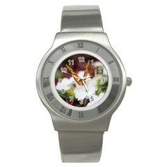 Butterfly 159 Stainless Steel Watch (unisex)