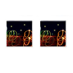 Night Light s Cufflinks (square)