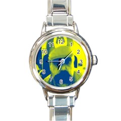 600 By 600 Image Round Italian Charm Watch