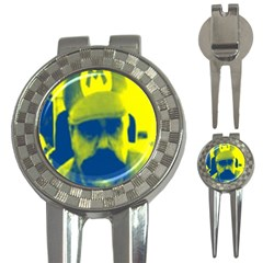 600 By 600 Image Golf Pitchfork & Ball Marker