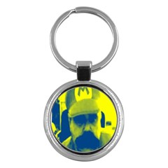 600 By 600 Image Key Chain (round)